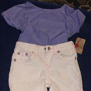 Toddler T-shirt and jeans